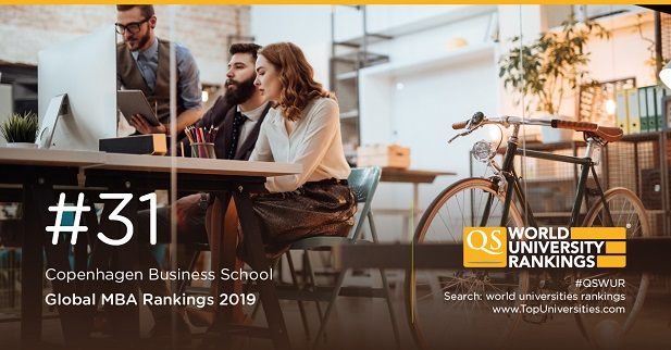 Copenhagen QS Global MBA Ranking 2019