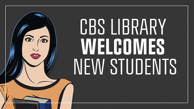 CBS Library welcomes new students