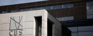 CBS logo på bygning
