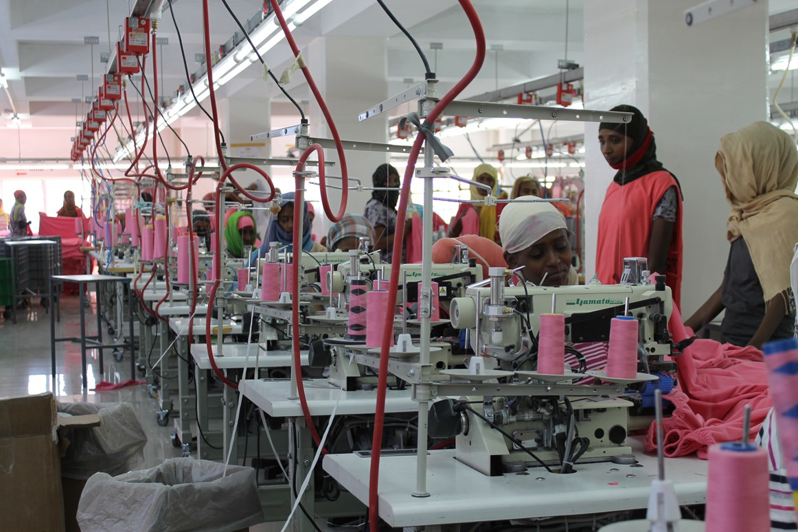 Textile production in Ethiopia