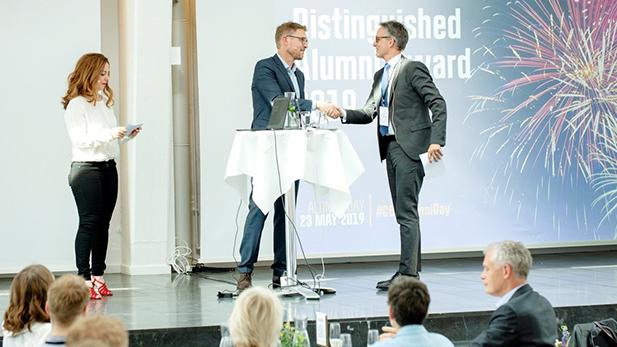 Alumni Day 2019 - Anders Dons modtager Æresalumne prisen