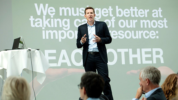 Alumni Day 2019 - Christian Ørsted talks 'Lethal Leadership'