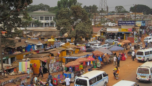 (Informal) Market and Bus station, Kampala, Uganda