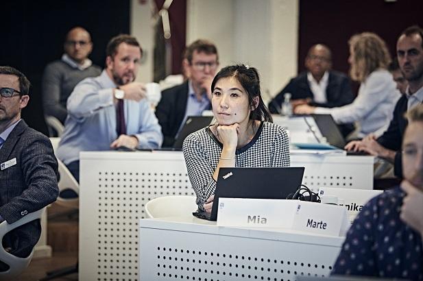 CBS Blue MBA classroom glimpse 2019