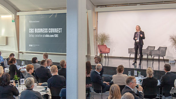 CBS Business Director Louise Sees kicks off CBS Business Connect 2018, 'Creating sustainable digital transformations'.