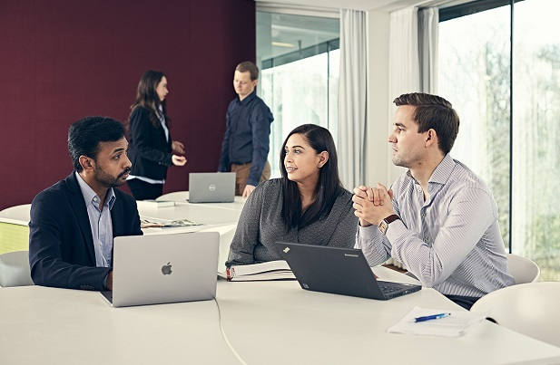 Copenhagen MBA 2018 classroom