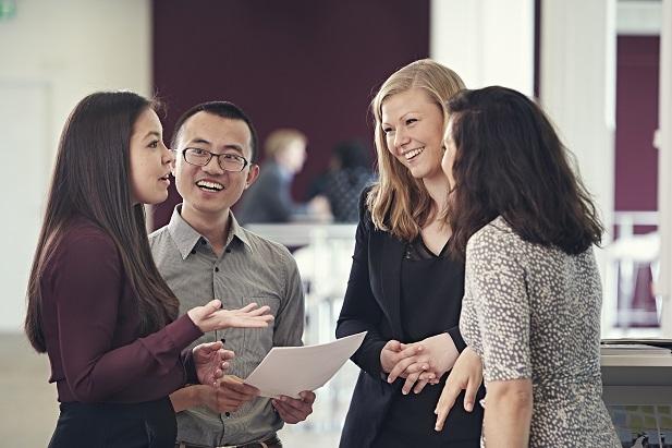 Copenhagen MBA students