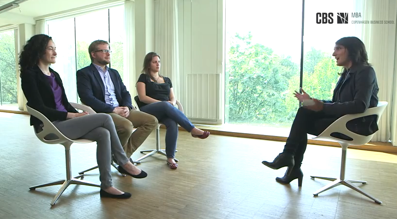 CBS Full-time MBA interview with three MBA students