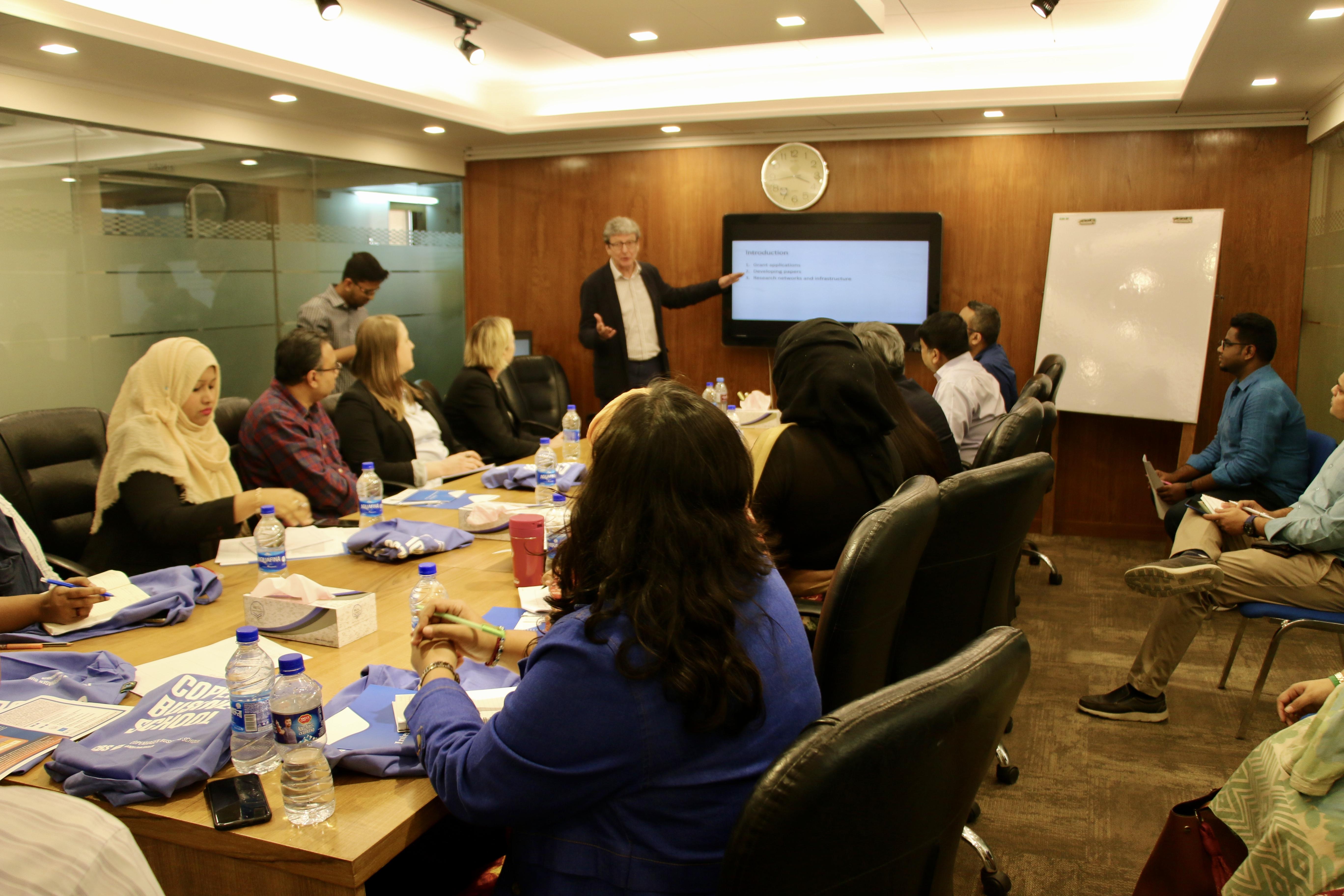 Faculty workshop