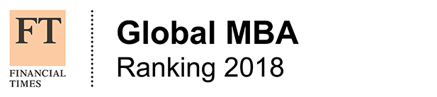 Financial Times global MBA 2018 ranking logo