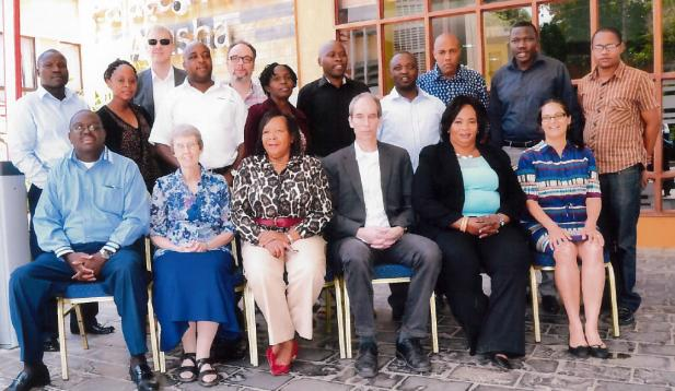 Group photo of the SAFIC team in Arusha