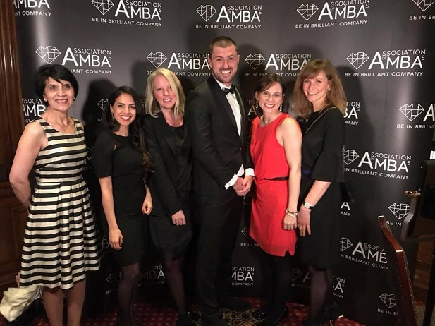 Jack Langworthy wins AMBA Entrepreneurial Awards Feb 2018