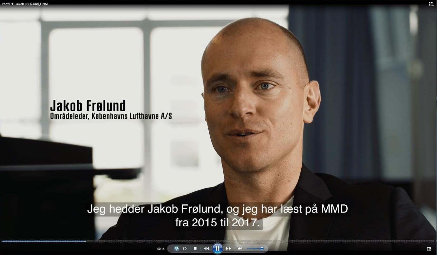 Jakob Frølund, MMD 2016