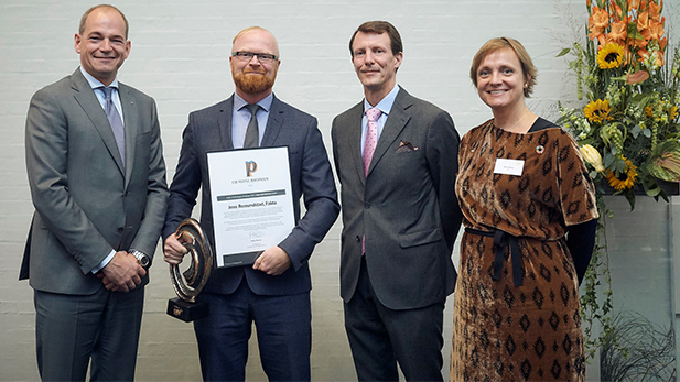 """Jens Romundstad is recipient of the CSR People Prize as """"Denmark's Most Socially Responsible Business Executive""""."""