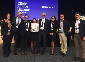 CBS participants at the CEMS annual meeting