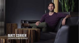 Matt Corker Copenhagen MBA Alumnus