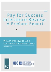 Pay for Success Literature Review_A PreCare Report