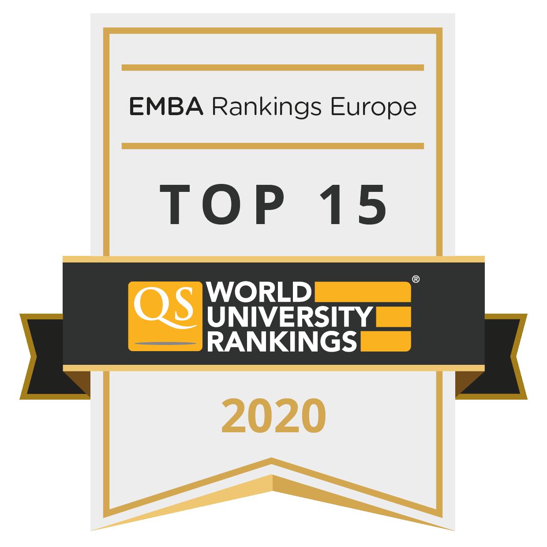QS EMBA ranking 2020