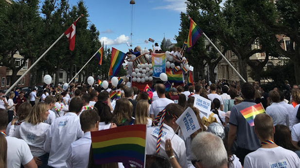 That's all from CBS at Copenhagen Pride 2017 - see you in 2018.