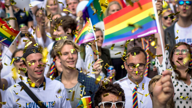 CBS attended Copenhagen Pride for the first time in 2017 as part of the centenary celebrations.