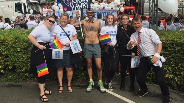 CBS diversity and inclusion at Copenhagen Pride 2017.