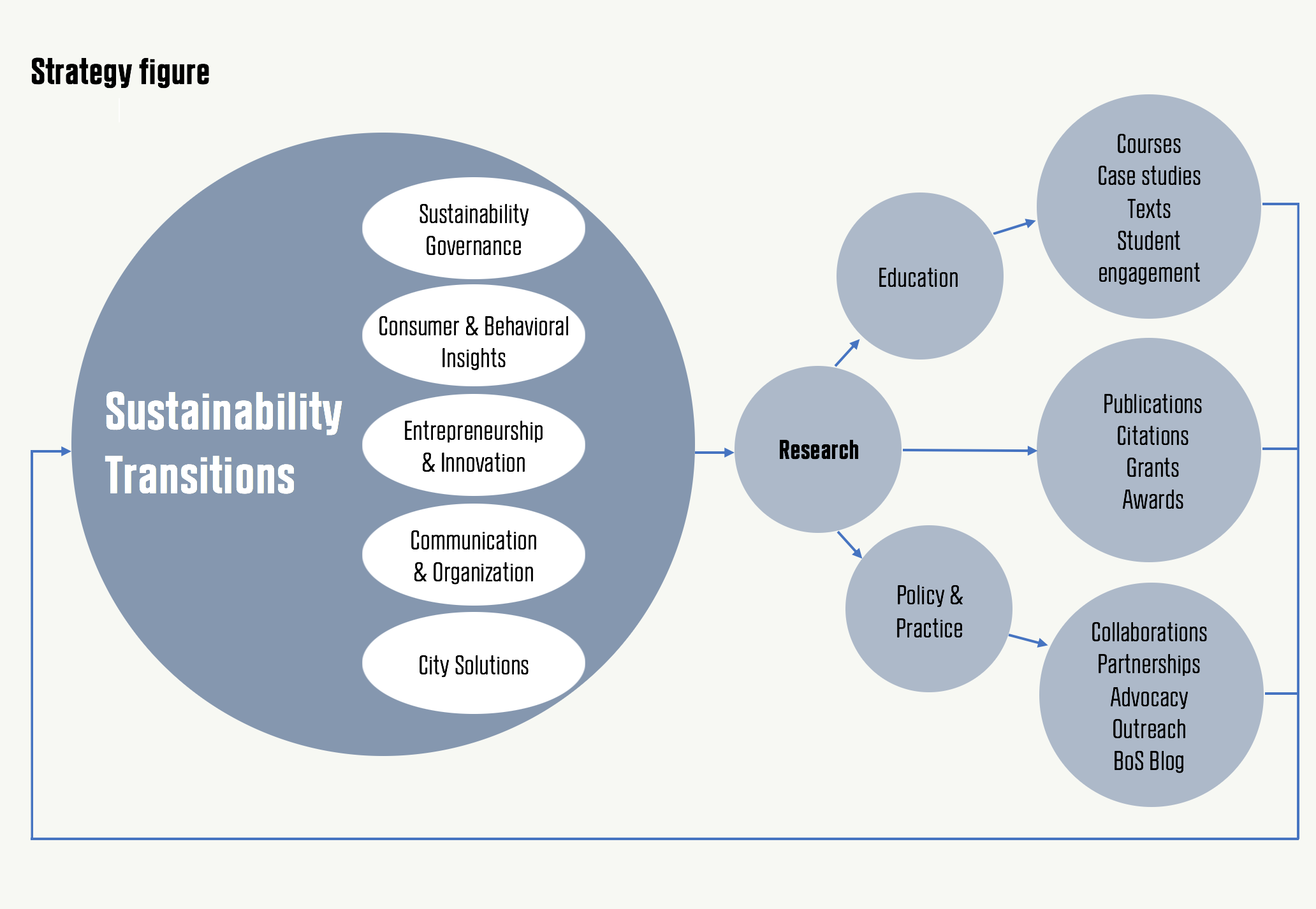 CBS Sustainability Strategy Figure