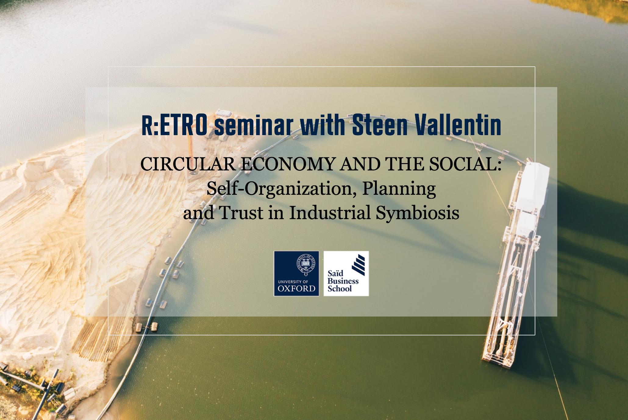 R:ETRO Seminar with Steen Vallentin