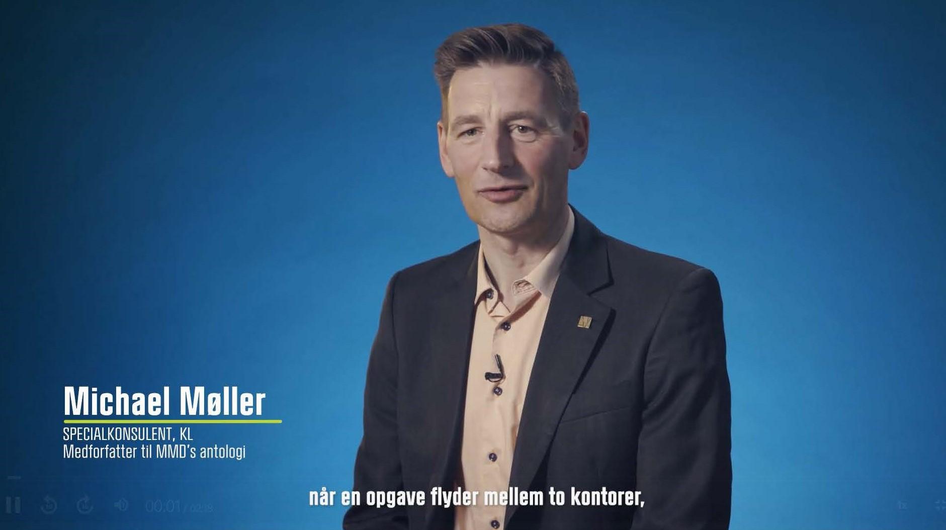 Michael Møller medforfatter til MMD antologi