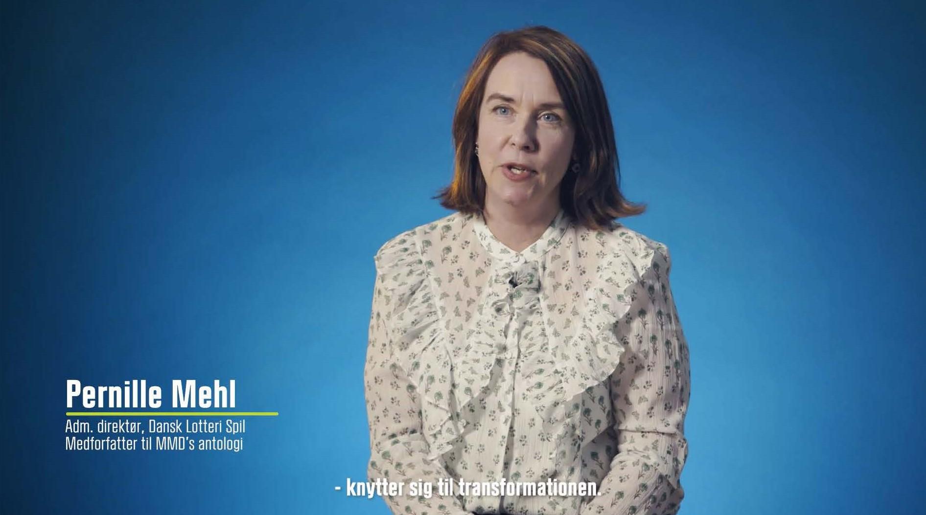 Pernille Mehl medforfatter MMD antologi
