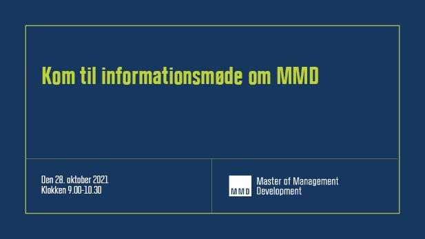 Master of Management Development