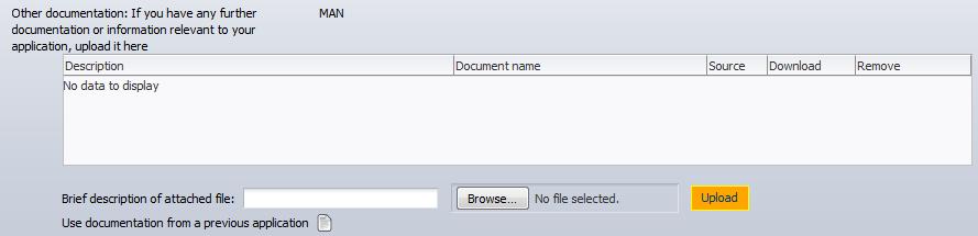 Documentation after deadline