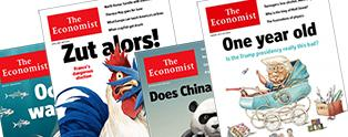 Covers from The Economist