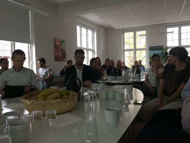 Niels Ploug audience
