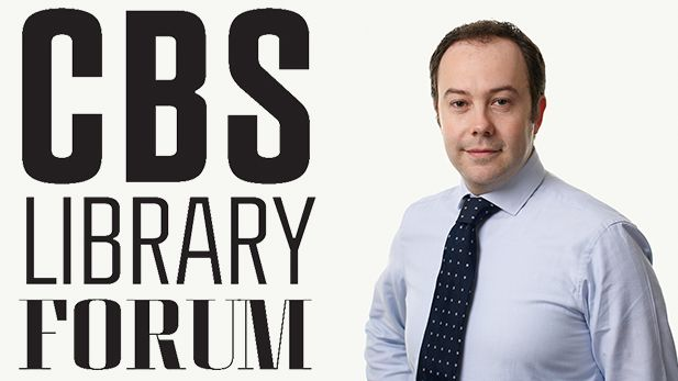 Manuele Citi visits CBS LIBRARY FORUM