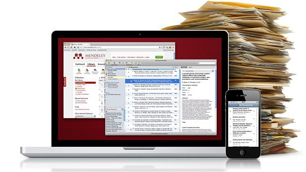 Use Mendeley for your reference lists