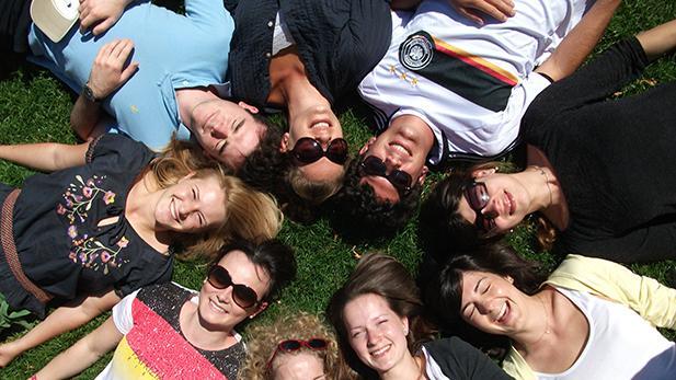 Students at Summer University