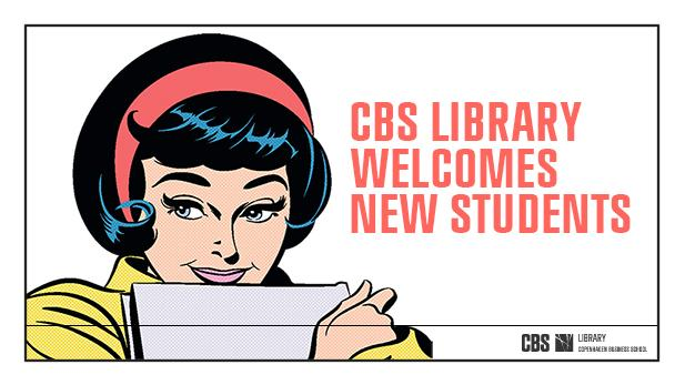 Welcome to new students at CBS