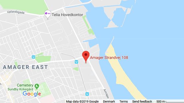 Google Maps, Amager Strandvej 108