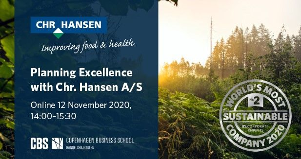 Planning Excellence with Chr. Hansen A/S
