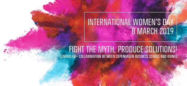 Bekæmp myterne om køn til Kvindernes internationale kampdag på CBS
