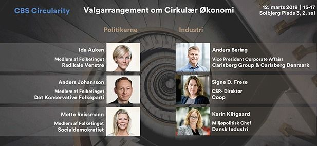 Ny tænketank om cirkulær økonomi inviterer politikere og erhvervsledere til debat