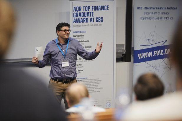 Lasse Heje Pedersen AQR Top Finance Grad Award 2018