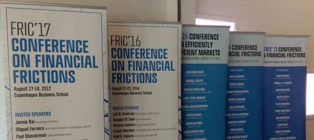 FRIC conferences roll-ups
