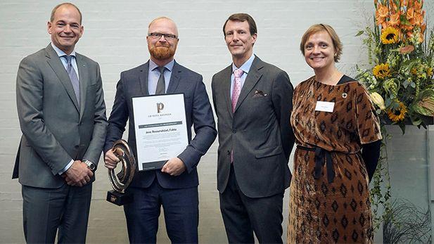 """Jens Romundstad er modtager af CSR People æresprisen som """"Danmarks Mest Socialt Ansvarlige Erhvervsleder""""."""
