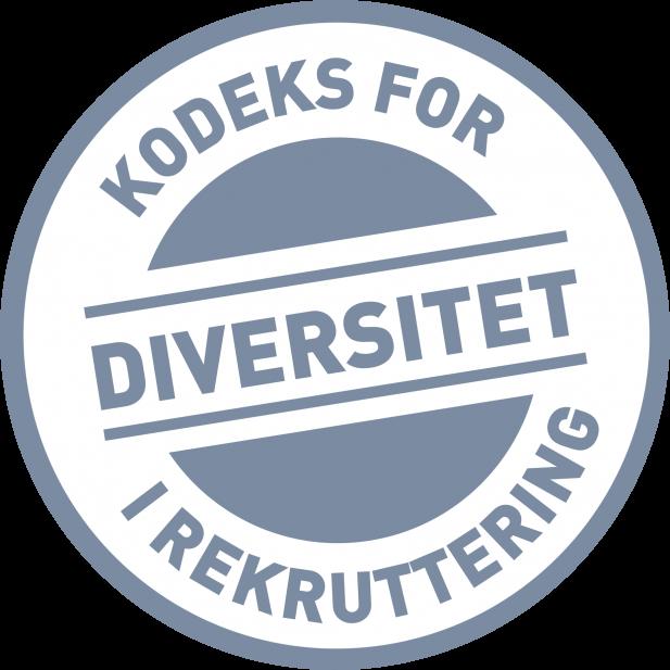 Logo kodeks for diversitet i rekruttering
