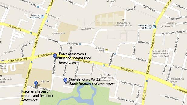 Kort over Porcelænshaven 1