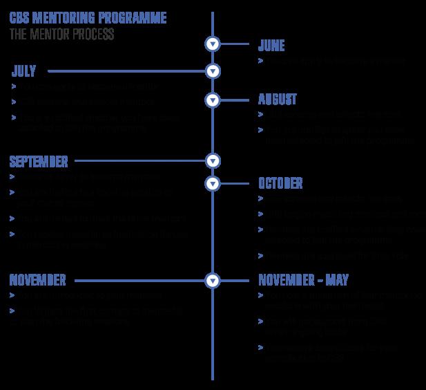CBS Mentoring Programme process