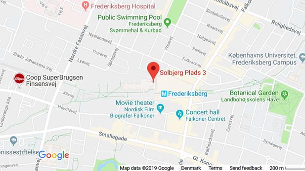 Google Maps, Solbjerg Plads 3