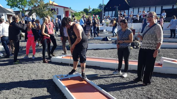 Global Goals Minigolf