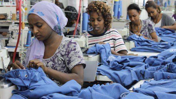 Textile production in Ethiopia